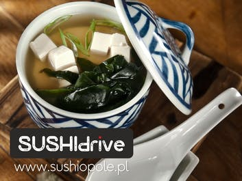 ZUPY w Sushi Drive‼️
