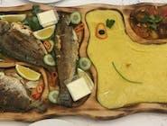 Platou pescăresc ( pentru 4 persoane )