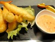 Krewetki Nobashi w tempurze 5 szt.