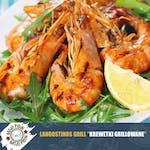 Krewetki Grilowane -Langostinos Argentinos al Grill-