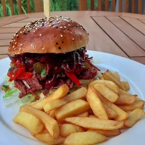 soczysty burger w Gorzowie