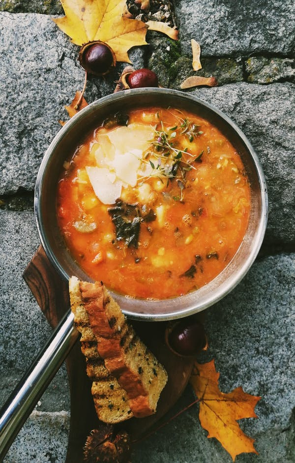 Ribollita – Toskańska zupa fasolowa