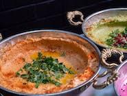 Hummus & Suszone pomidory