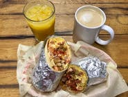 Breakfast Burrito + Orange Juice + American Coffee