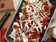 Chorizo Salad / Salată de Salam Iute de Porc