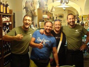 Z ziomalami w Toscanii