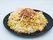 Krok 1: Ryż smażony z wybranym składnikiem