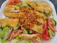 Mix sałatkowy z kurczakiem