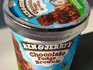 Ben&Jerry's Chocolate Fudge BROWNIE 465 ml