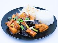 Ma Po Bakłażan smażony z tofu