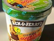 Ben&Jerry's VEGAN Peanut Butter & Cookies Ice Cream 465 ml