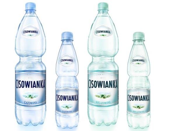 """Naturalna woda mineralna """"Cisowianka"""""""