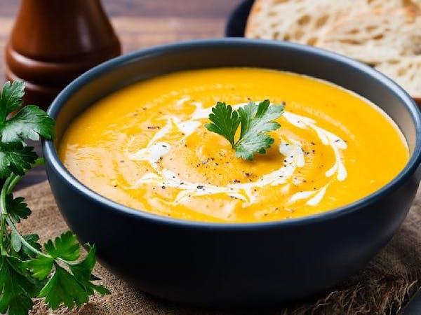 Zupa krem z dyni z mlekiem kokosowym 340ml.