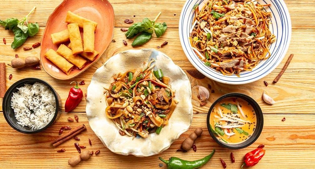 Tajskie curry z ryżem jaśminowym