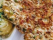 Filet z kurczaka panierowany w ziarnach