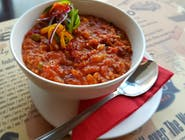 Zupa meksykańska a la chili con carne