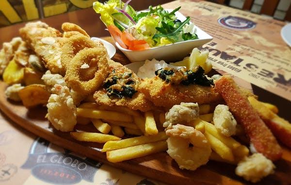 Pólmisek ryb i owoców morza dla 2-óch osób