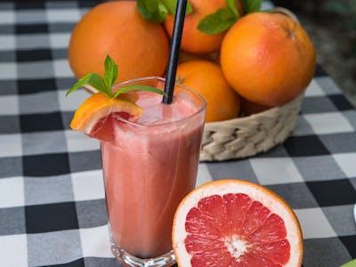 Sok grejpfrut + pomarańcza