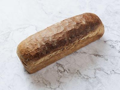 Pâine de secară la tavă