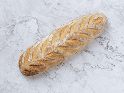 Pâine albă la vatră