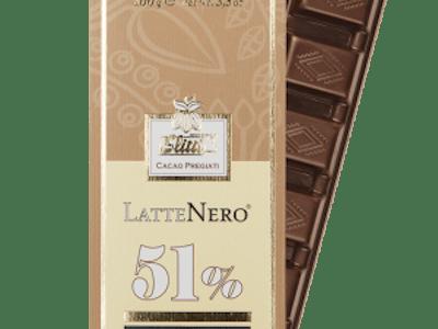 Slitti Ciocolată Latte Nero 51%