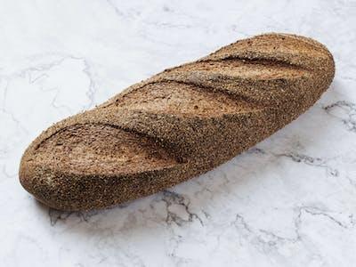 Pâine neagră cu tărâțe
