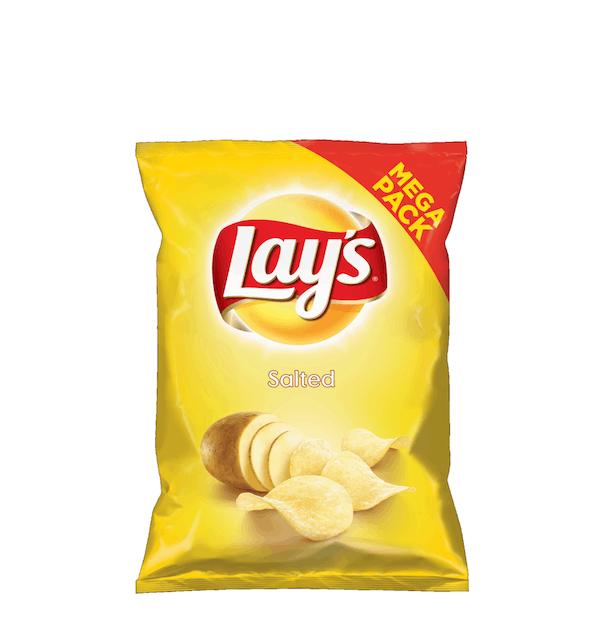Lays Salted Mega Paka 215g