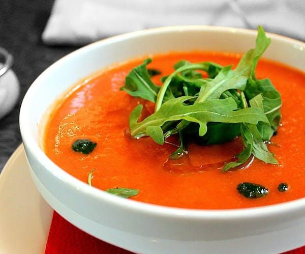 Zupa krem z pomidorów pelati