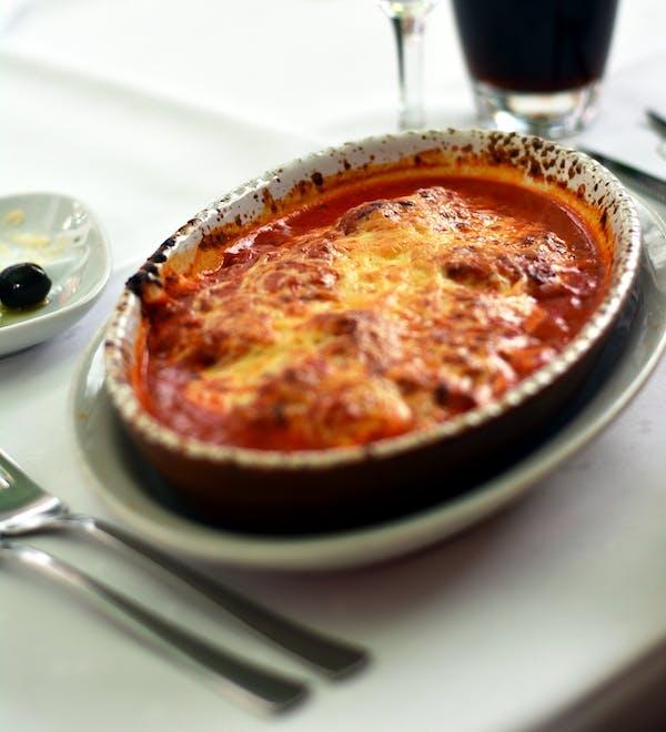 Lasagne z mięsem i warzywami