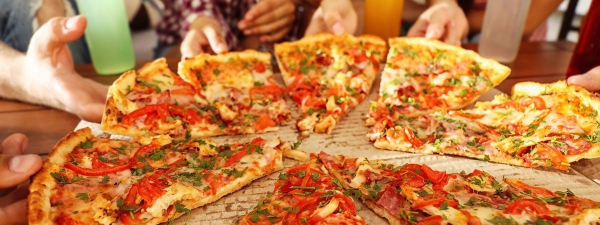 Pizza zestaw 2+1