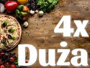 4x DUŻA Pizza 30cm