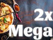 2x MEGA Pizza 42cm