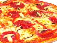 22. Capriciosa, sos Pomidorowy