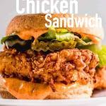 FRIED CHICKEN SANDWICH   🍞 🍗🥬🐥