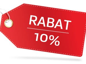 10% RABATU przy zamówieniu przez stronę internetową Italian Express