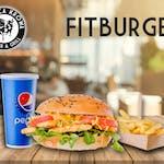 Fit Burger Zestaw XL