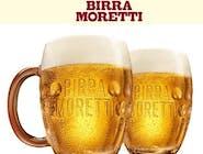 Birra Moretti włoski lager z beczki 0,5 lt