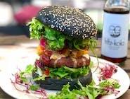 Burger Jak w szaliku (opcja wegańska)