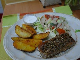 Steak el Peppercrust