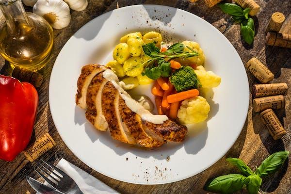 Pierś z kurczaka nadziewana Gorgonzolą