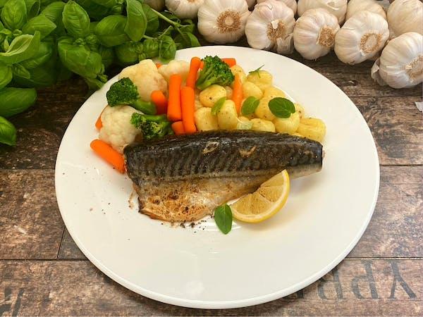 Makrela atlantycka z pieca