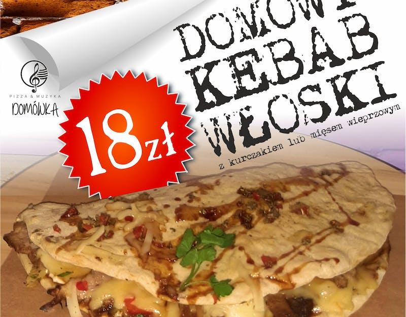 Nowość - domowy kebab włoski!