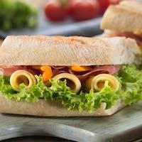 2x pizza + viedenský sandwich zadarmo!