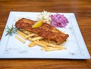 Fish and Chips (ryba z frytkami)