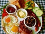 Obfite Irlandzkie Śniadanie