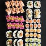 Love (52 szt) Egzotyczne smaki w sushi!