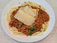 Spaghetti Bolognese + zupa dnia