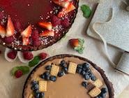 Domowa tarta z musem czekoladowym