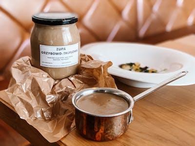 Zupa grzybowo-truflowa
