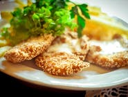 Fileciki z kurczaka w sezamie